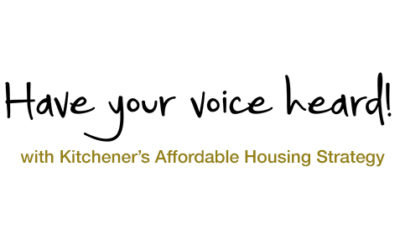 Kitchener's Affordable Housing Strategy
