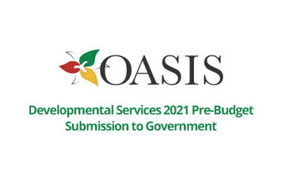 Developmental Services 2021 Pre-Budget Submission to Government