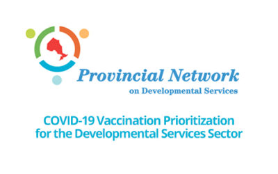 COVID-19 Vaccination Prioritization for the Developmental Services Sector