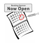Booking System Now Open