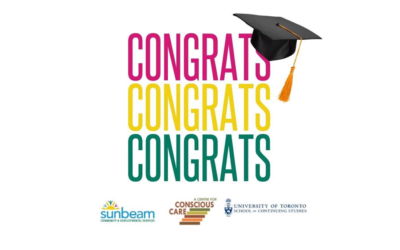 Sunbeam's First Graduating Class from the Conscious Care and Support Program