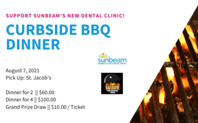 Curbside BBQ in Support of Sunbeam!