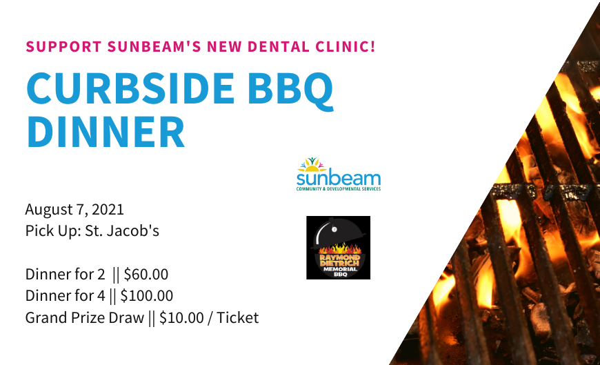 Curbside BBQ Poster